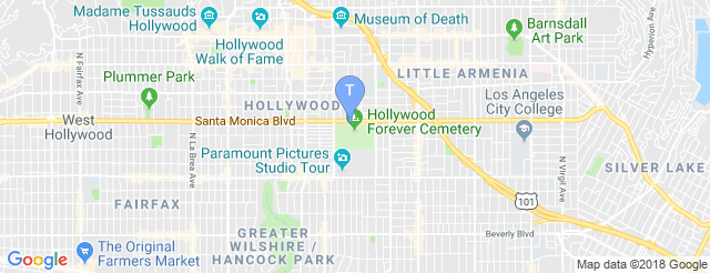 The Masonic Lodge at Hollywood Forever